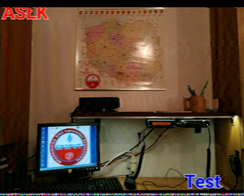 ASŁK - Test SSTV